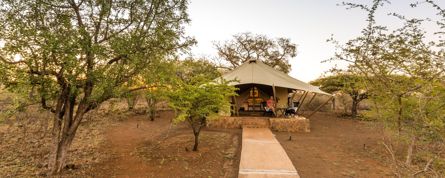 luxury safari tent zululand pongola safari