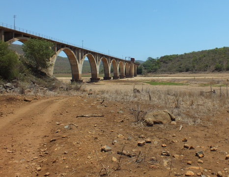 Image 12: After: Water Level of Pongola River  / September 2015