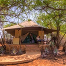 Luxury safari tent,all secluded and private