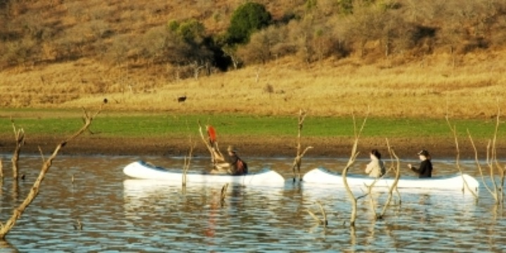 Canoeing on Pongola River