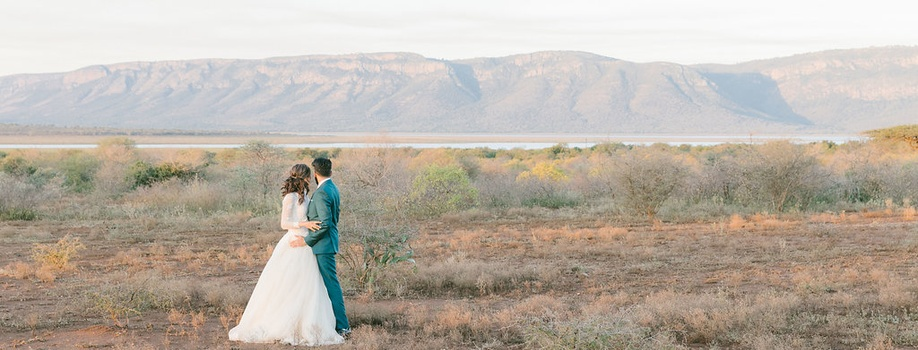romance, wedding, honeymoon, zululand, game reserve